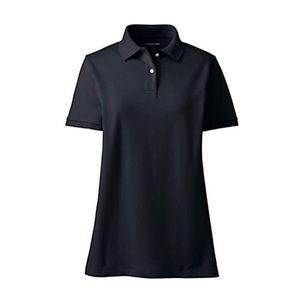 🆕 Lands End Mesh Cotton Short Sleeve Polo